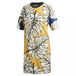 NEW ~ adidas ORIGINALS X FARM Graphic Tee dress M